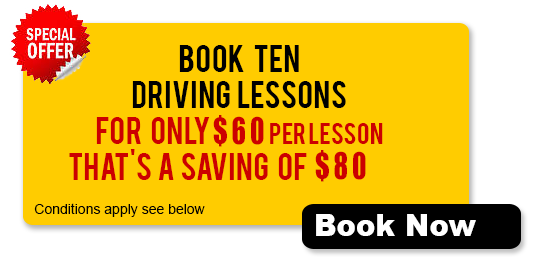 Book Ten Driving Lesson